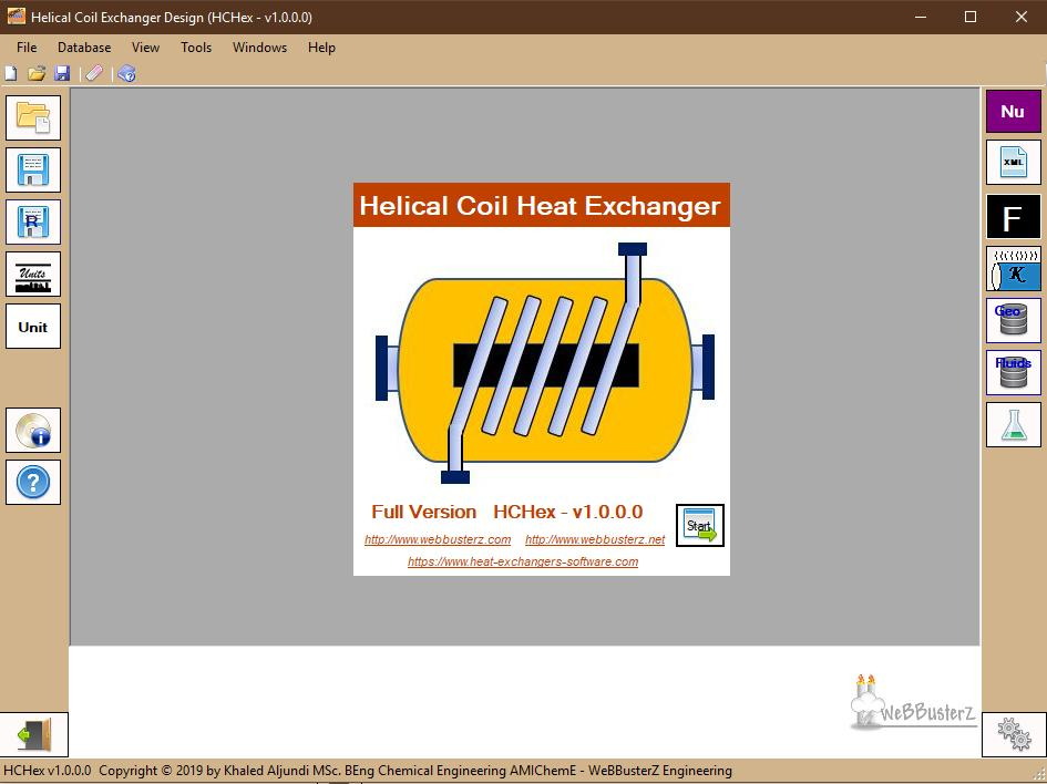 helical coil heat exchanger design software